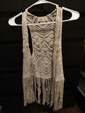 Hollister Knit Vest Size XS/S
