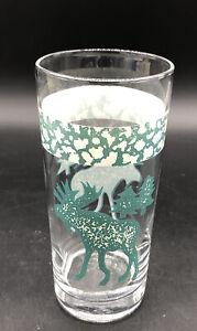 Tienshan Moose Country 14 Oz Tumbler Folk Craft Glass