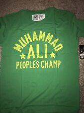 ROOTS OF FIGHT BOXING MUHAMMAD ALI GREEN T-SHIRT XXL 2XL
