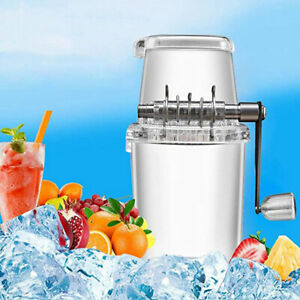 Tools Home Summer Transparent Manual Shaver Ice Chopper Ice Blender Ice Crusher