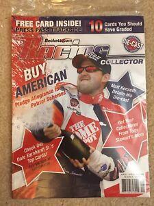 NEW BECKETT RACING AUGUST 2003 MATT KENSETH W/ FREE TRACKSIDE CARD HOME DEPOT