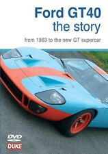 FORD GT40 THE STORY FROM 1963 TO THE NEW GT. Supercar. Amon. 75 Min. DUKE 3680NV