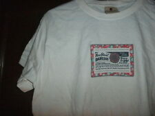 WOOLRICH short sleeve white boys shirt NEW GIANT DAHLIAS size medium junior NEW