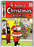ARCHIE'S CHRISTMAS STOCKING #5 in VG/FN condition a 1958 GOLDEN AGE Archie comic