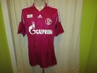 "FC Schalke 04 Adidas Ausweich DFB-Pokal Sieger Trikot 2011 ""GAZPROM"" Gr.M"