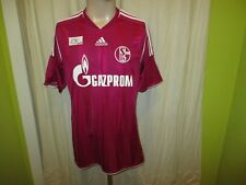 "FC Schalke 04 Adidas Ausweich DFB-Pokal Sieger Trikot 2011 ""GAZPROM"" Gr.M TOP"