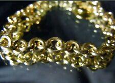 """Gold Bracelet Joey Nicks Anarchy Jewelry A New 2020 7"""" 24K Unisex 5.25mm Solid"""