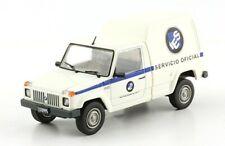IES Gringa Furgon 1987 Service Truck Rare Argentina Diecast Scale 1:43+Magazine