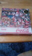 NEW Springbok A. Coca-Cola Christmas, 1500 piece jigsaw puzzle