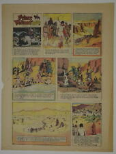 PRINCE VALIANT Full Color SUNDAY PAGE King Features Hal Foster 12/17/1967, #1610
