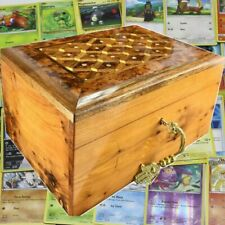 Multipurposed card games case, collectible card wooden box, Travel Game Cards