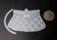 Tattered Lace Vintage Handbag Metal Cutting Die D1230 + Handle Card Crafts