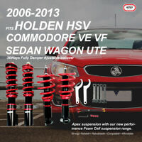 For Holden HSV Commodore VE WM Sedan Wagon UTE Coilovers Set Damper Adjustable