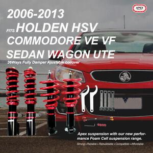 For Holden HSV Commodore VE WM Sedan Wagon UTE Coilovers Set Damper Adjustable