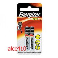 Energizer E96 96E LR61 Pro 3 Pen AAAA Alkaline Battery 4A 1.5V E96BP-2 2pcs
