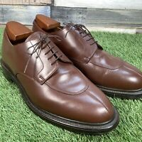 UK10.5 Barker Apron Toe Derby Oxford Dress Shoe - Made In England - Wedding EU45