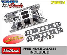 Edelbrock 75814 RPM Air-Gap SB Ford Endurashine Intake w/FREE Intake Gaskets