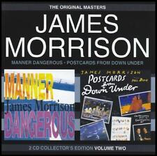 JAMES MORRISON Manner Dangerous/Postcards From Down Under 2CD BRAND NEW