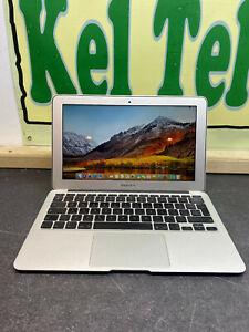 """Apple MacBook Air INTEL C2D 11"""" 60GB HIGH SIERRA LAPTOP FULLY WORKING + PSU UK"""