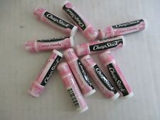 10 COUNT CHAPSTICK BRAND LIP BALM - COTTON CANDY - NEW/SEALED - EL 171