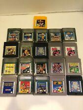 Huge Lot Nintendo Gameboy Video Games Tested Work