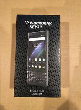 BlackBerry KEY2 LE BBE100-5 Verizon Slate Gray 64 GB Dual SIM New In Box