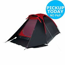 Proaction 1 Room 4 Man Dome Tent - Black/Red. From the Argos Shop on ebay