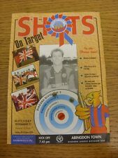 04/10/1994 Aldershot Town v Abingdon Town  . Thanks for viewing our item, if thi