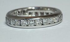 Tiffany & Co Lucida Diamond Band Ring With 24 Dazzling Diamonds Size R 1/2