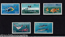 More details for colombia - 1966 fish - u/m - sg 1176-80