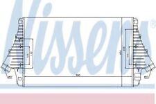 Brand New Intercooler for CADILLAC-FIAT-OPEL-PONTIAC-SAAB-VAUXHALL 96647 Nissens