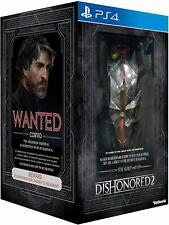 Dishonored 2 Collectors Edition Merch Sammleredition FR Version unvollständig