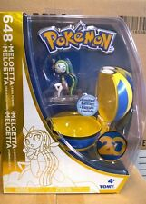 Pokemon Meloetta Figure & Poke Ball Clip On 20th Anniversary Ltd Edition Boxed