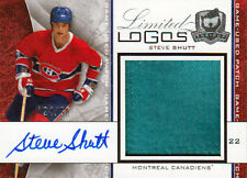 08-09 The Cup LIMITED LOGOS xx/50 Made! Steve SHUTT - Canadiens