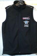 Mens Black Sleeveless Zip Front Vest Size Medium GB Racing Motorcycle Brand