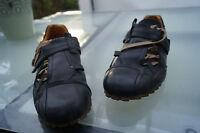 Air Step Herren Airstep Schuhe Schnürschuhe Gr.36 schwarz Leder Klett V TOP