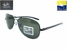 RAY BAN TECH 8301 002 ACCIAIO/FIBRA CARBONIO Sunglass Sonnenbrille Sole