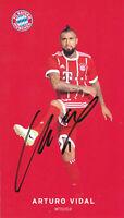 Arturo VIDAL - Chile, Bayern München, 2017/18, Original-Autogramm!