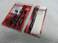 Craftsman Offset Screwdriver Bit Ratchet and Battery Wrench Set, made in USA