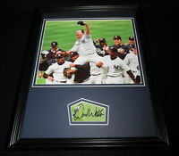 David Wells Signed Framed 11x14 Photo Display NY Yankees Perfect Game