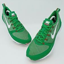 Nike Mens Free Versatility Green/Red Training Shoes Mexico Size 9.5 833336-316