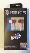 Buffalo Bills iHip Premium Audio Earphones Earbuds - iPhone iPod NEW