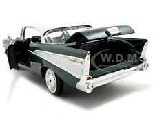 1957 CHEVROLET BEL AIR GREEN 1:24 DIECAST MODEL CAR BY MOTORMAX 73228