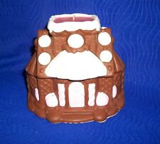 Vintage Avon 1979 Gingerbread House Frankincense & Myrrh Candle-W/Box