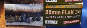Dragon 1/35 88mm FLAK 36 w/FLAK Artillery Crew 6260