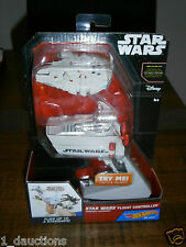 NEW HOT WHEELS STAR WARS FLIGHT CONTROLLER WITH MILLENNIUM FALCON STARSHIP