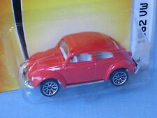 Matchbox 1962 Volkswagon VW Beetle Red Body Toy Model Car in BP 70mm