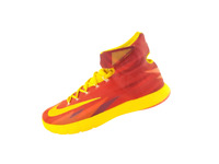 NIKE Zoom Hyperrev 2013 VNDS Crimson Gold Red 630913-600 Sneakers Men's Size 13
