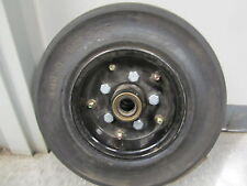 4.00 - 8 Tire tires Wheel Combo rim 3.75 solid industrial bearing hub Military
