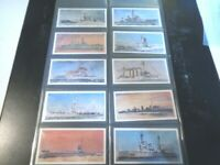 1962 Lyons Tea  HMS 1902-1962 navy ships Trade set 32 cards like tobacco lot